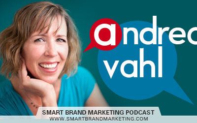 SBM 080 : Comedy, Facebook Ads and Online Course Marketing with Andrea Vahl