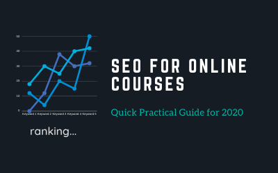 SEO For Online Courses (Quick Practical Guide For 2020)